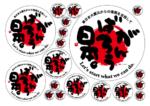 【送料無料】がんばろう日本(丸型)【復興支援ステッカー】